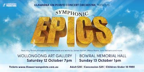 Symphonic Epics: Wollongong tickets