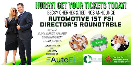 Automotive 1st  F&I Director's Roundtable! tickets