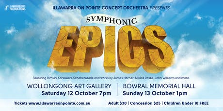 Symphonic Epics: Bowral tickets