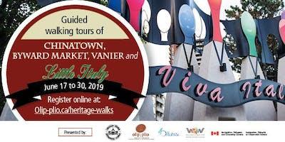 Immigrant Heritage Walking Tour: Little Italy(English) / Tournée pédestre du patrimoine immigrant : La Petite Italie  (anglais)