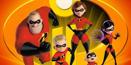 JP FREE Movie Night | The Incredibles 2 tickets