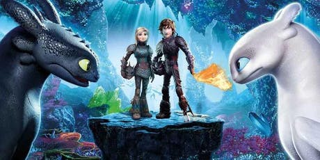JP FREE Movie Night | How to Train Your Dragon 3 tickets