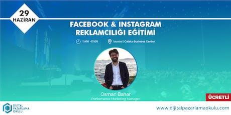 Facebook-Instagram Reklamcılığı Eğitimi (ÜCRETLİ) tickets