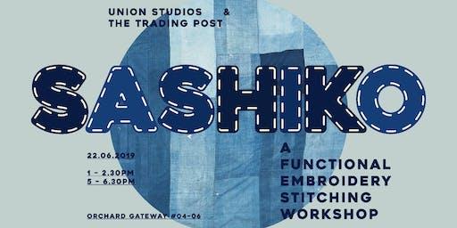 Shashiko - Functional Embroidery Stitching Workshop