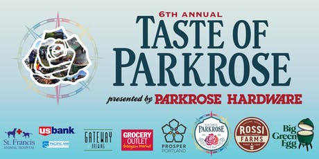 6th Annual Taste of Parkrose tickets