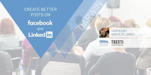 [Darwin] Create better posts on Facebook & LinkedIn