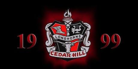 CEDAR HILL CLASS OF 1999 - 20 YEAR REUNION WEEKEND! tickets