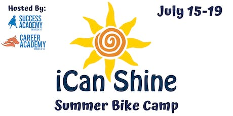 iCan Shine Bike Camp tickets