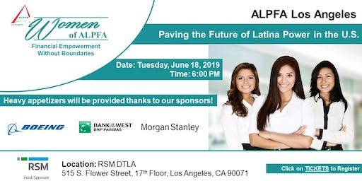 Women of ALPFA, Paving the Future of Latina Power in the U.S.