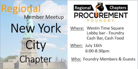 New York City Member Meetup - July 2019 tickets