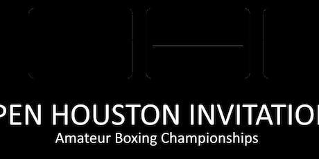 "Open Houston Invitational ""OHI"" Amateur Boxing Tournament  tickets"