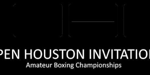 "Open Houston Invitational ""OHI"" Amateur Boxing Tournament"