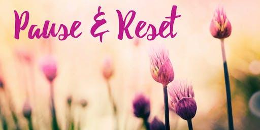 Pause & Reset Yin Yoga Workshop