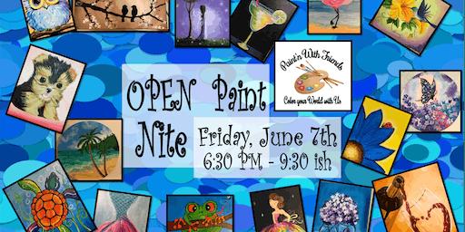 Open Studio - Paint Nite