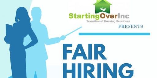Fair Hiring: Employment Forum