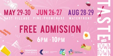 Taste of Downtown: Pine & Promenade tickets