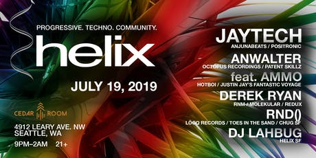 Helix Presents:  JAYTECH (Anjunabeats), Anwalter, feat. Ammo & more! tickets
