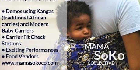 Babywearing SoKo: Black Babywearing Week tickets