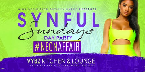SYNFUL SUNDAYZ IV Day Party....