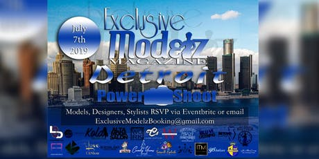Exclusive Modelz Magazine Detroit 2019 POWER SHOOT  tickets