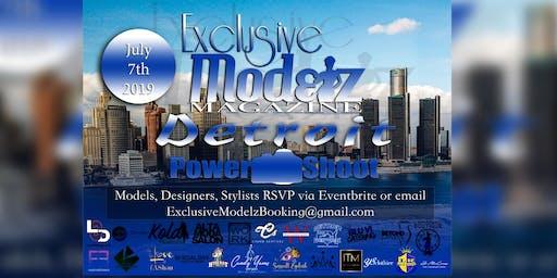 Exclusive Modelz Magazine Detroit 2019 POWER SHOOT
