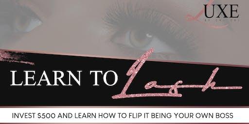 Learn To Lash With Master Lash Technician ChiChi!