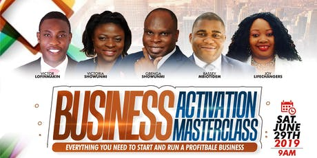 Business Activation Masterclass tickets