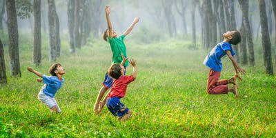 Kids Yoga in the Park