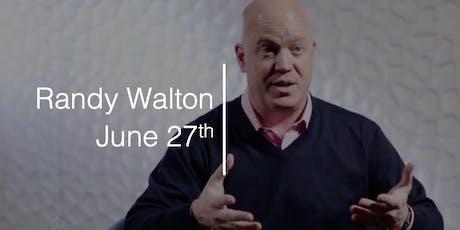 A Conversation with Randy Walton tickets