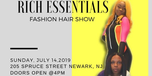 RICH ESSENTIAL FASHION HAIR SHOW