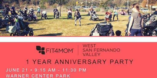 FIT4MOM West San Fernando Valley 1-Year Anniversary