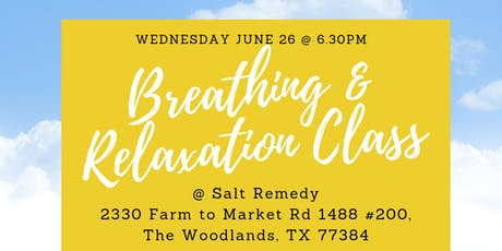 Breathing & Relaxation Class tickets