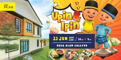 Raya with Upin & Ipin