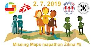 Missing Maps mapathon Žilina #5
