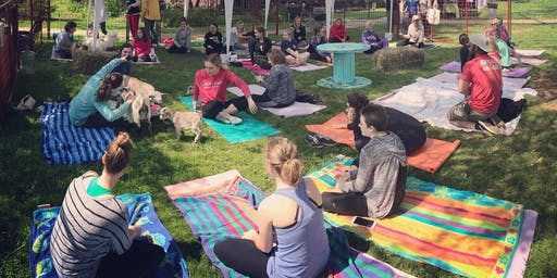 Feels Like OM Goat Yoga at BAYarts Farm and Art Market