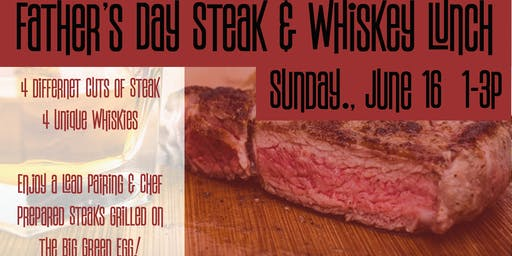 Father's Day Steak & Whiskey Lunch