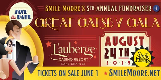 SMILE MOORE'S 5th ANNUAL GREAT GATSBY GALA