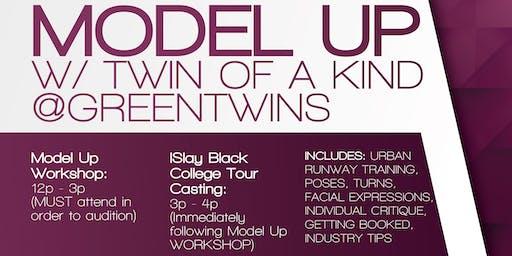 ISLAY w/ @GREENTWINS - MODEL UP WORKSHOP & MODEL CASTING