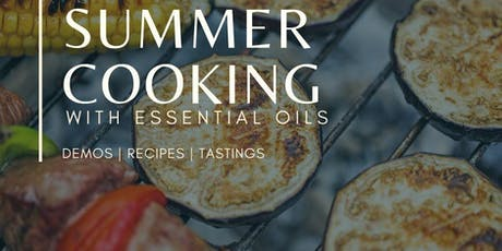Summer Cooking with Essential Oils tickets
