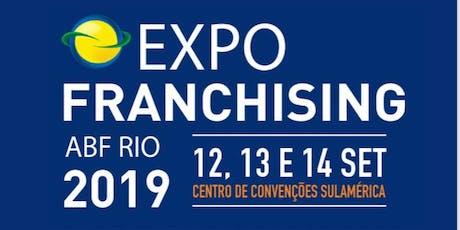 Expo Franchising ABF Rio ingressos