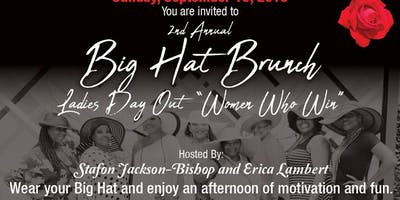 "Big Hat Brunch Ladies Day Out ""Women Who Win"""