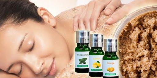 Making Body Scrub With Essential Oils - BF1 Essential Oils Class
