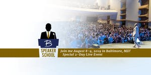 BW Speaker School - Live in Baltimore