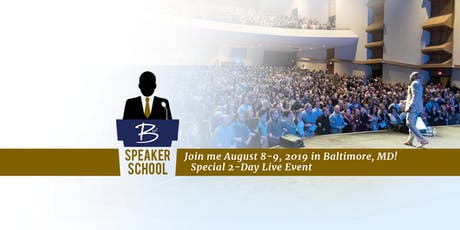 BW Speaker School - Live in Baltimore tickets