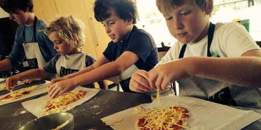 Kids Holiday Cooking - Bread and Pizza