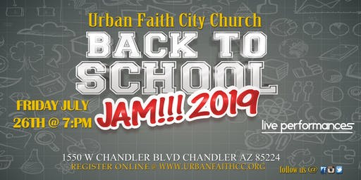 Back to School Jam 2019