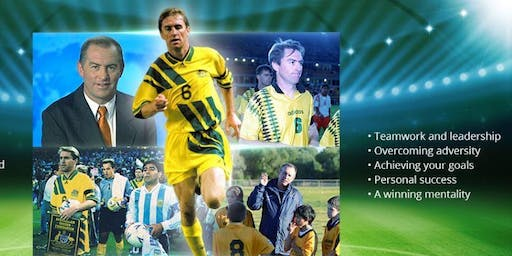 Forbes Soccer Club Sports Dinner with International Socceroo Captain Paul Wade