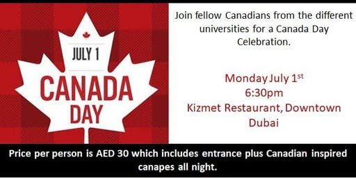 Alumni Canada Day Celebration