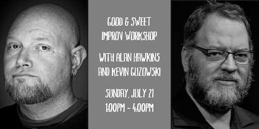 Good and Sweet Improv Workshop