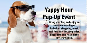 Yappy Hour Pup-Up Event